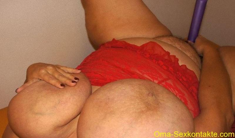 Fake tits anal